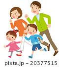 家族 4人家族 人物のイラスト 20377515