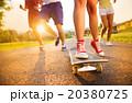 人々 人物 スケートの写真 20380725