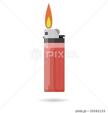red pocket lighter 20382133