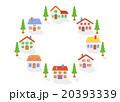 粘土の家8軒     20393339