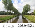 アムステルダムの水路 20394321