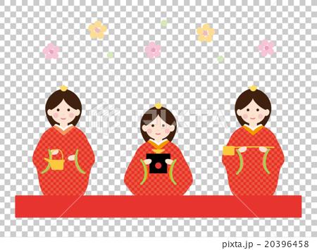素材-三人官女1 20396458