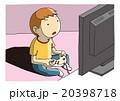 ベクター ゲーム テレビゲームのイラスト 20398718