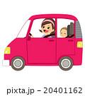 車 自動車 お母さんのイラスト 20401162