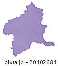 群馬県地図 20402684