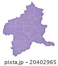 群馬県地図 20402965