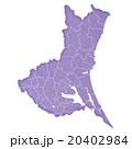 茨城県地図 20402984