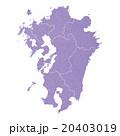 九州地図 20403019