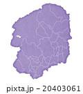 栃木県地図 20403061
