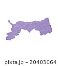 鳥取県地図 20403064