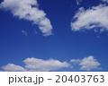 日本の冬空 20403763