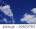 日本の冬空 20403765