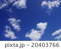 日本の冬空 20403766