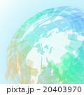 地球と世界地図 アブストラクトイメージ 20403970