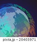 地球と世界地図 アブストラクトイメージ 20403971