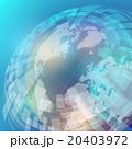 地球と世界地図 アブストラクトイメージ 20403972