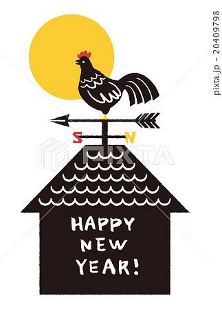 風見鶏のイラスト素材 [20409798...