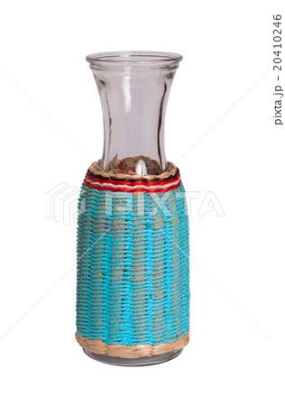 Unique glass vase, isolatedの写真素材 [20410246] - PIXTA