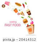 Fast Food Vector Illustration 20414312