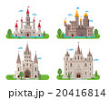 Medieval ancient castles set 20416814