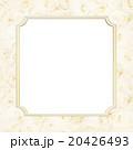 フレーム 花 薔薇のイラスト 20426493