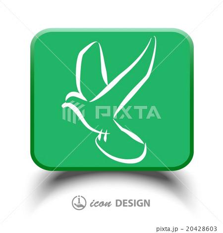Pictograph of birdのイラスト素材 [20428603] - PIXTA