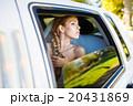 Bride in limousine 20431869