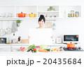 主婦 キッチン 料理の写真 20435684