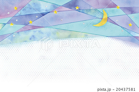 夜の背景イラストのイラスト素材 20437581 Pixta