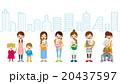 母親 赤ちゃん 女性のイラスト 20437597