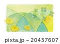 春の背景イラスト 20437607
