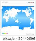 世界地図 20440696