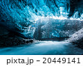 Ice cave in Iceland deep tunnel 20449141