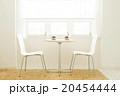 インテリア カフェ テーブルの写真 20454444