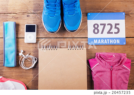 Running stuff on the floorの写真素材 [20457235] - PIXTA