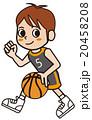 バスケ バスケットボール スポーツのイラスト 20458208