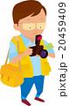 カメラマン 男性 写真撮影のイラスト 20459409