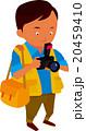 カメラマン 男性 写真撮影のイラスト 20459410