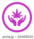 Cannabis Care Rounded Vector Icon 20469020