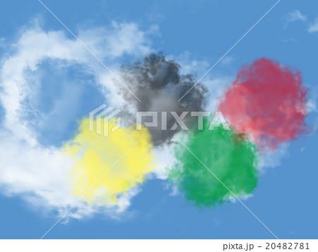 オリンピックの色に似た雲 20482781