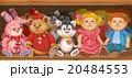 棚 シェルフ 店舗のイラスト 20484553