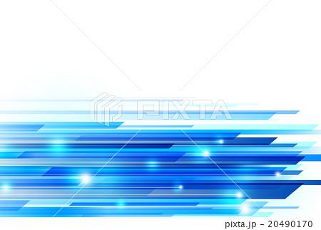 青 背景 アブストラクト 20490170