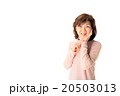女性 笑顔 シニアの写真 20503013