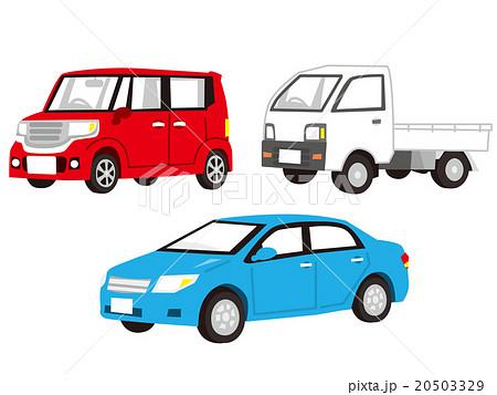 車 イラスト のイラスト素材 20503329 Pixta
