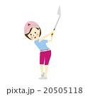ゴルファー女性 夏 20505118