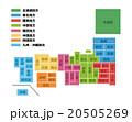日本地図 20505269