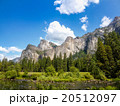世界遺産 ヨセミテ国立公園 景色の写真 20512097
