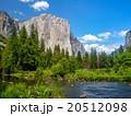 世界遺産 ヨセミテ国立公園 景色の写真 20512098