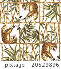 虎とジャングルのアロハ柄 20529896