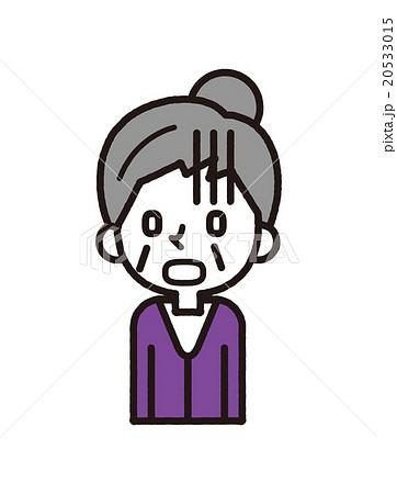 おばあさん【シンプルキャラ・シリーズ】 20533015